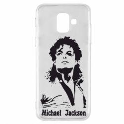 Чехол для Samsung A6 2018 Майкл Джексон