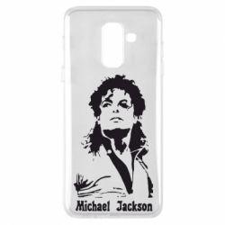 Чехол для Samsung A6+ 2018 Майкл Джексон