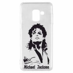 Чехол для Samsung A8 2018 Майкл Джексон