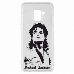 Чехол для Samsung A8+ 2018 Майкл Джексон