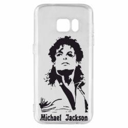 Чохол для Samsung S7 Майкл Джексон