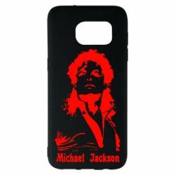 Чехол для Samsung S7 EDGE Майкл Джексон