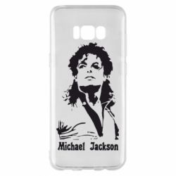 Чехол для Samsung S8+ Майкл Джексон