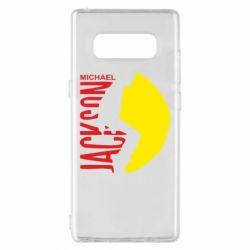 Чехол для Samsung Note 8 Майкл Джексон - FatLine
