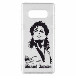 Чехол для Samsung Note 8 Майкл Джексон