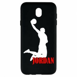 Чехол для Samsung J7 2017 Майкл Джордан - FatLine