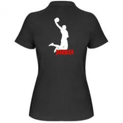 Жіноча футболка поло Майкл Джордан