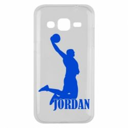 Чехол для Samsung J2 2015 Майкл Джордан - FatLine