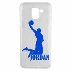Чохол для Samsung J6 Майкл Джордан