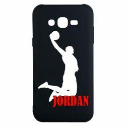 Чехол для Samsung J7 2015 Майкл Джордан - FatLine