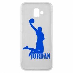 Чохол для Samsung J6 Plus 2018 Майкл Джордан
