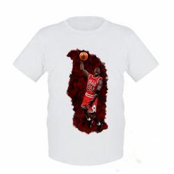Детская футболка Майкл Джордан - FatLine