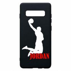 Чехол для Samsung S10+ Майкл Джордан