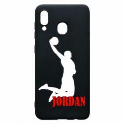 Чохол для Samsung A20 Майкл Джордан