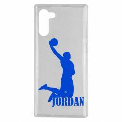 Чехол для Samsung Note 10 Майкл Джордан