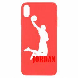 Чохол для iPhone X/Xs Майкл Джордан