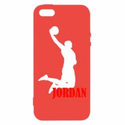 Чохол для iphone 5/5S/SE Майкл Джордан