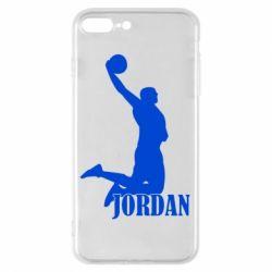 Чохол для iPhone 8 Plus Майкл Джордан