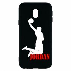 Чохол для Samsung J3 2017 Майкл Джордан