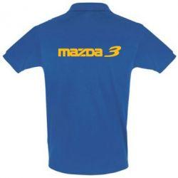Футболка Поло Mazda 3 - FatLine