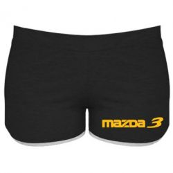 Женские шорты Mazda 3 - FatLine