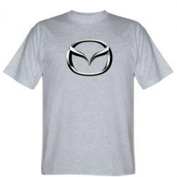 Мужская футболка Mazda 3D Logo - FatLine