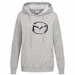 Женская толстовка Mazda 3D Logo - FatLine