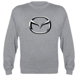 Реглан (свитшот) Mazda 3D Logo - FatLine