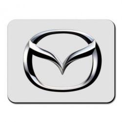 Коврик для мыши Mazda 3D Logo - FatLine