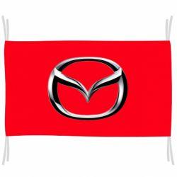 Флаг Mazda 3D Logo
