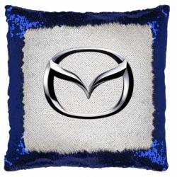 Подушка-хамелеон Mazda 3D Logo