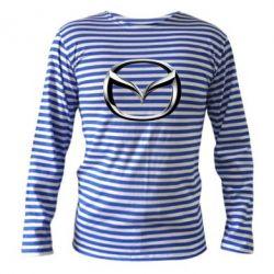 Тельняшка с длинным рукавом Mazda 3D Logo - FatLine