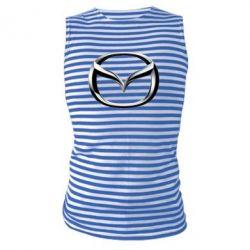 Майка-тельняшка Mazda 3D Logo - FatLine