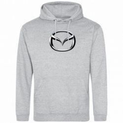Мужская толстовка Mazda 3D Logo - FatLine