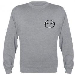 Реглан (свитшот) Mazda 3D Small Logo - FatLine