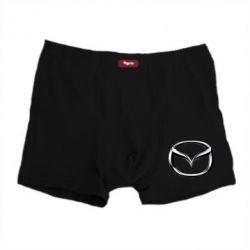 Мужские трусы Mazda 3D Small Logo - FatLine
