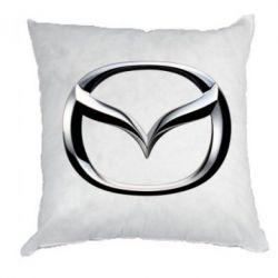 Подушка Mazda 3D Small Logo - FatLine