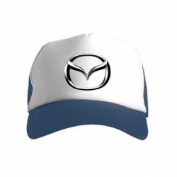 Детская кепка-тракер Mazda 3D Small Logo
