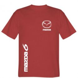 Мужская футболка Mazda 6 vert - FatLine