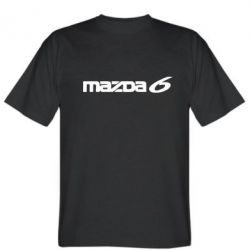 Мужская футболка Mazda 6 - FatLine
