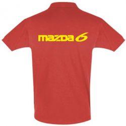 Мужская футболка поло Mazda 6