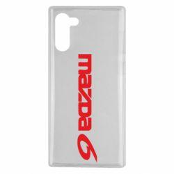 Чехол для Samsung Note 10 Mazda 6 - FatLine