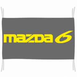 Флаг Mazda 6