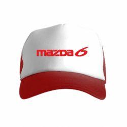 Детская кепка-тракер Mazda 6