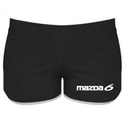 Женские шорты Mazda 6 - FatLine