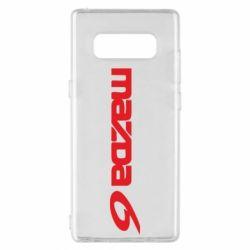 Чехол для Samsung Note 8 Mazda 6 - FatLine