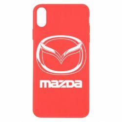 Чохол для iPhone X/Xs Mazda Logo
