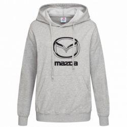 Женская толстовка Mazda Logo - FatLine