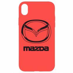 Чохол для iPhone XR Mazda Logo