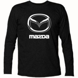 Футболка с длинным рукавом Mazda Logo - FatLine